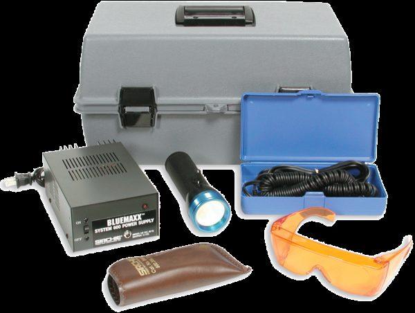 BLUEMAXX Forensic Light Source Kit, 110V (BM600)