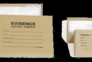 "Small Evidence Box, 5.25"" x 3.75"" x .875"" (ECB003)"
