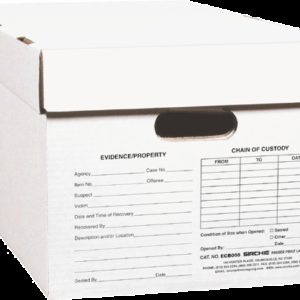 """Evidence/Rec. Boxes w/removeable lid, 24"""" x 12"""" x 10"""" (ECB008)"""