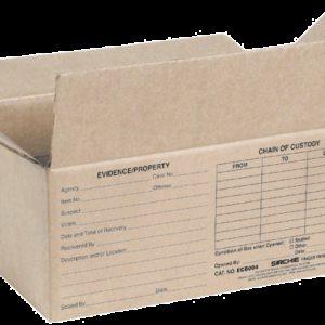 "Evidence Boxes, 10.375"" x 6.375"" x 4.5"" (ECB005)"