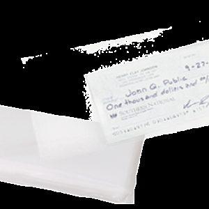 """Zip-Top Evidence Bag, 4"""" x 10"""" (CEB100)"""