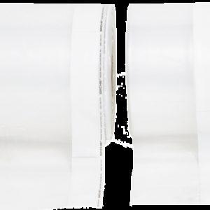 "Evidence Bag Tubing w/White Stripe, 12"" x 175 yards (PETW12)"