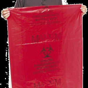 """Disposable Biohazard Bags, 30.5"""" x 41"""" (BDB3041)"""