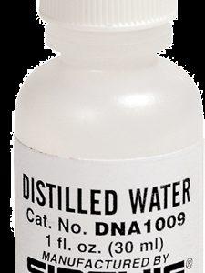 Distilled Water, 1 oz. (30ml) (DNA1009)