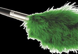White Marabou Feather Duster (123LW)