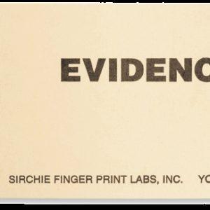 "BLANK MANILA EVIDENCE TAGS, 3.75"" x 1.875"" (608E1)"
