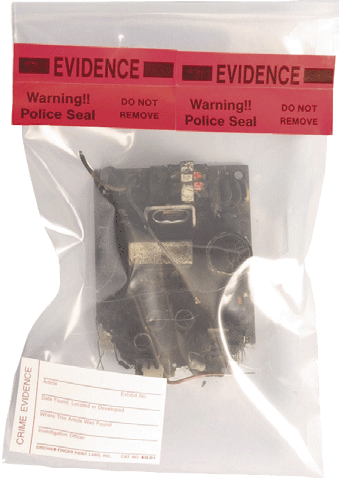"Arson Evidence Collection Bags, 5"" x 10"" x .002"" (AEC510C)"