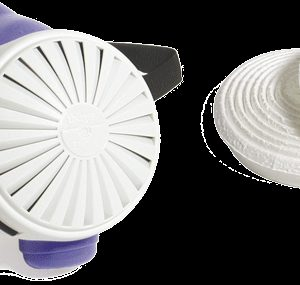 Half Mask Particulate Respirator w/P100 Filters (5 ea) (SF0034H)