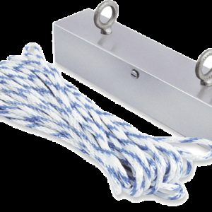 Recovery Magnet w/100 ft. Polypropylene Rope (HRM100)