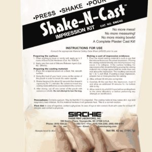 Shake-N-Cast Impression Kit, Net Wt. 42 oz. (SNC42)