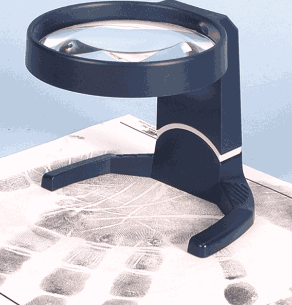Aspheric Stand Magnifier w/Tilting Head, 4X (JC5214)