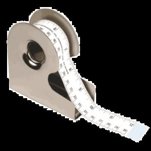 "Tape w/145TW Metal Tape Dispenser, 1"" x 500"" repeat (601ED)"