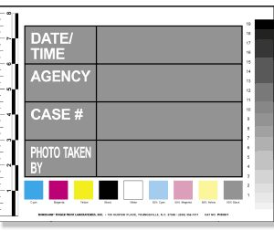 "Photograph Scale and Identification Cards 8.5"" x 11"" (PIC001)"