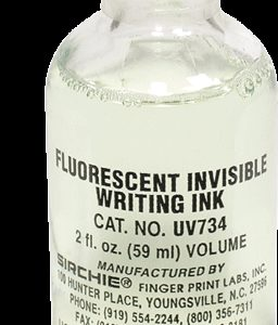 Fluorescent Invisible Writing Ink, 2 oz. (UV734)