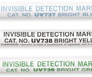 Ivory White Invisible Fluorescent Crayon (UV737)