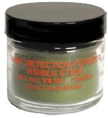 VISIBLE STAIN DET. POWDERS, GREEN natural color (VS301)