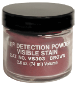 VISIBLE STAIN DET. POWDERS, BROWN natural color (VS303)