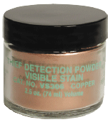 VISIBLE STAIN DET. POWDERS, COPPER natural color (VS306)