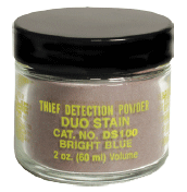 DUO-STAIN Visible Stain Detection Powder, 2 oz. (DS100)