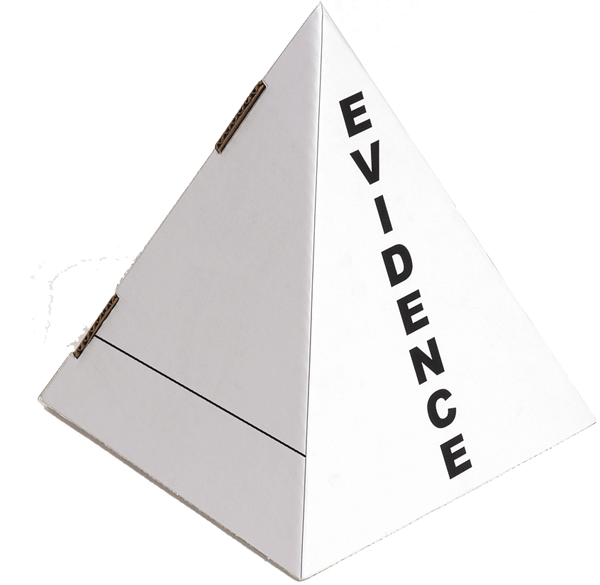 Crime Scene I.D. /Evidence Pyramid Markers (ID100)