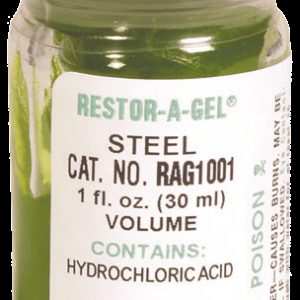 RESTOR-A-GEL® Serial Number Restoration Gel - Steel (RAG1001)
