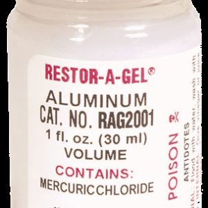 RESTOR-A-GEL® Serial Number Restoration Gel - Aluminum (RAG200)