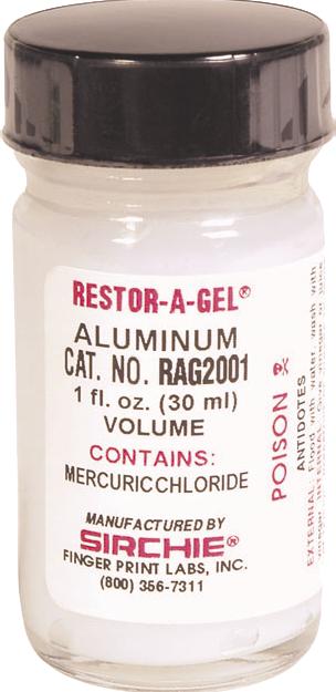 RESTOR-A-GEL® Serial Number Restoration Gel - Aluminum (RAG200)