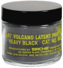 """Heavy"" Black Latent Print Powder, 2 oz. (HLP01)"