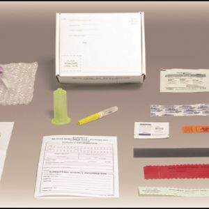 Suspect Blood Specimen Collection Kit, case of 25 (BSC50CS)