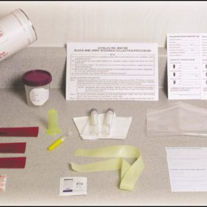 Blood Alcohol/Urine Specimen Collection Kit (BUK100)