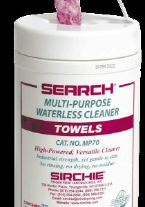 "Multi-Purpose Waterless Cleaner Towels, 10"" x 12"" (MP70)"